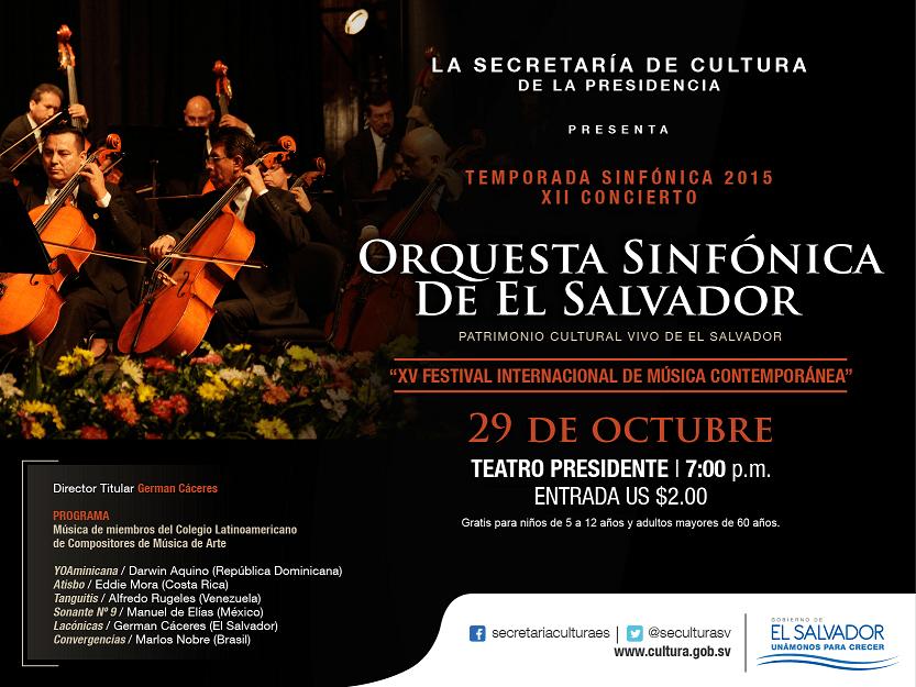 XV International Festival of Contemporary Music
