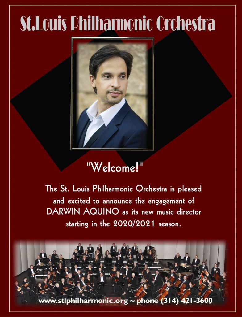 St. Louis Philharmonic Orchestra announcement