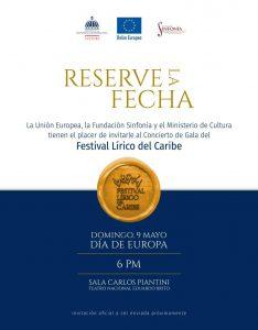 Festival Lírico del Caribe - Reserve la fecha